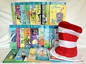 A Giant Dr. Seuss Cat in the Hat Learning Library Series 26 Book Collection Set