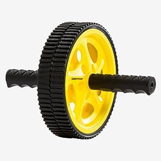 ボディメーカー(BODYMAKER) アブスライダー2 ブラック×イエロー ABSGBKYE トレーニング 腹筋 インナーマッスル 自宅トレーニング 上腕 筋トレ アブクランチ