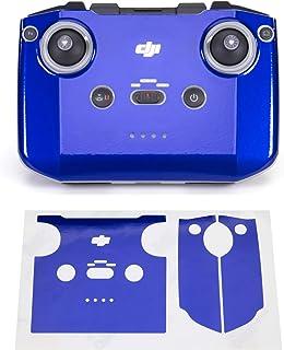 Wrapgrade Skin kompatibel med DJI Mini 2 | Fjärrkontroll (STRATOSPHERE BLUE)