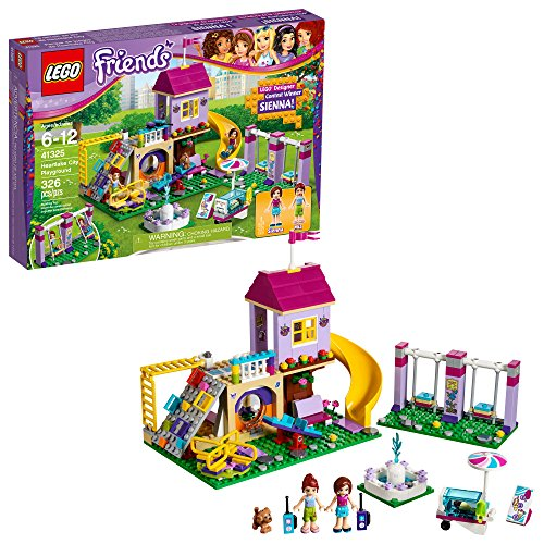 LEGO Friends Heartlake City Playground 41325 Building Kit (326 Piece) (Amazon Exclusive)