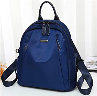 Small Women Backpacks Casual Lightweight Small Daypack for Girls, Waterproof Mini Outdoor Travel Bags, Shoulder Bag (Color : Blue)