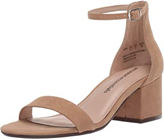 Women's Two Strap Heeled Sandal