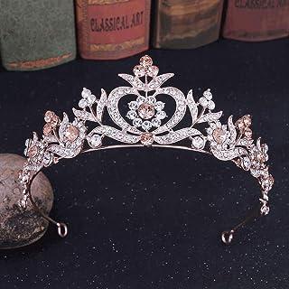 Diaod Wedding Crown Capel Gioielli Bridal Headpiece Woman Tiaras Bride Party Corone Accessori per Capelli da Sposa Strass ...