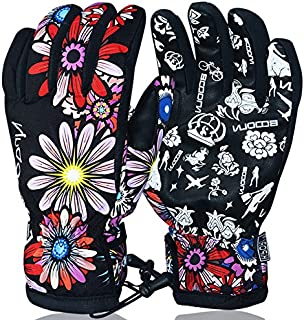 BOODUN Winter Warm Skiing Gloves Windproof and Waterproof Snow Ski Gloves for Snowboarding Cycling Langlauf