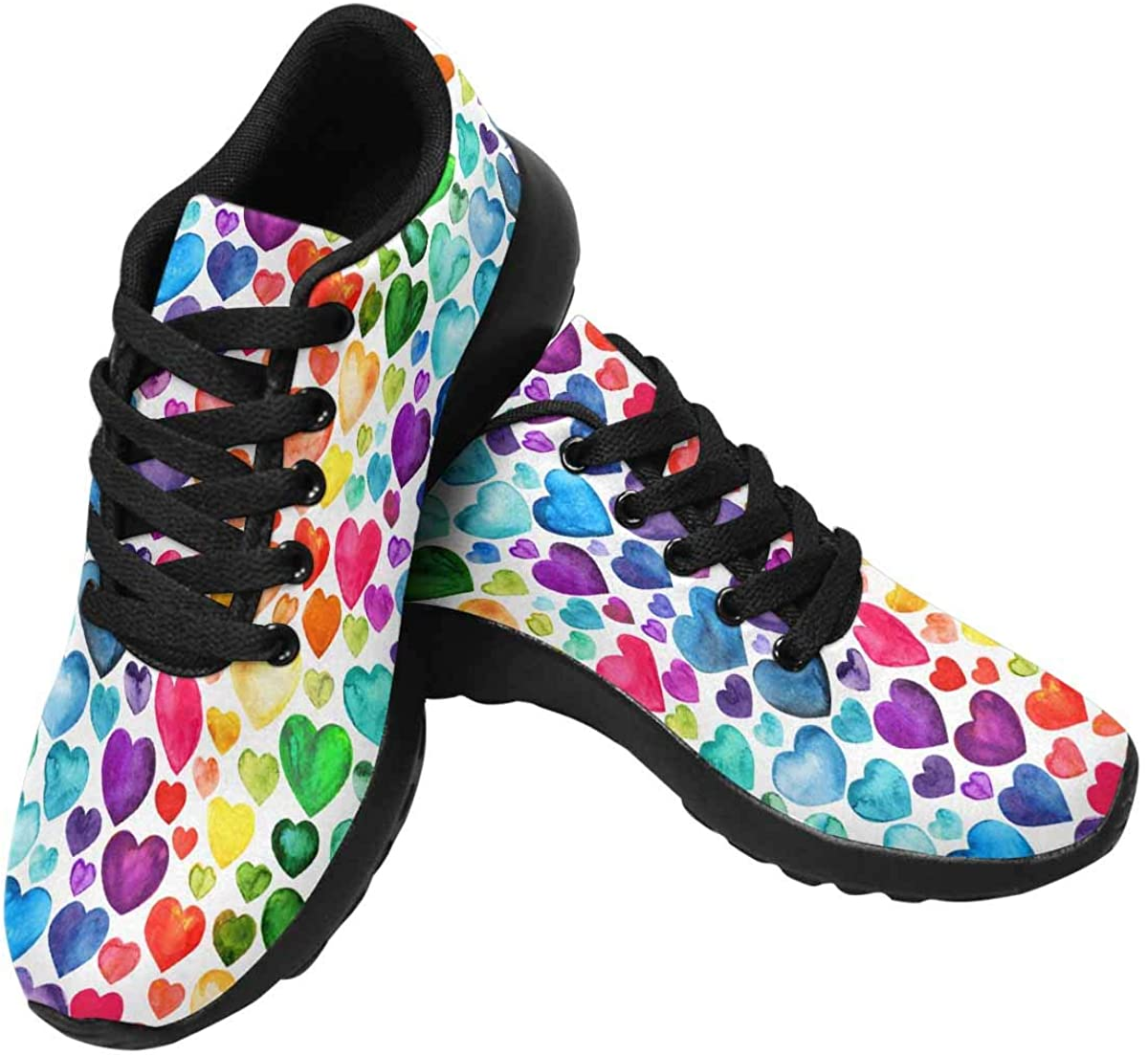 InterestPrint Women's Running Shoes Breathable Athletic 毎日続々入荷 セール品 - Casual