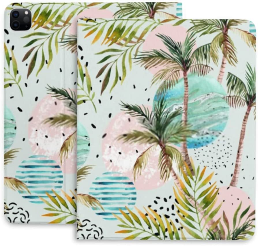 Case Max OFFicial 57% OFF for Ipad Pro 12.9 Cover Geometric Summer fo Protective