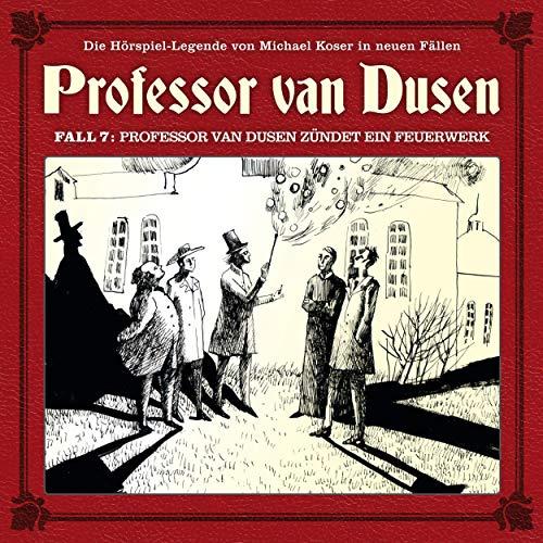 Professor van Dusen zündet ein Feuerwerk Titelbild