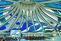 Jigsaw Puzzle for Adults Brasilia Cathedral Brazil Puzzle 1000 Piece Wooden Travel Souvenir Gift
