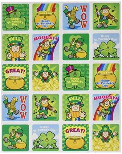Carson Dellosa St. Patrick's Day Motivational Stickers (0637)