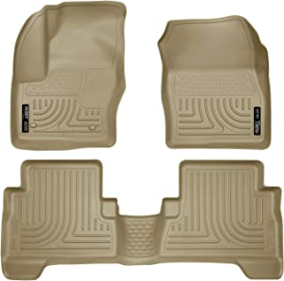 Husky Liners Front & 2nd Seat Floor Liners Fits 13-19 C-Max, 13-19 Escape