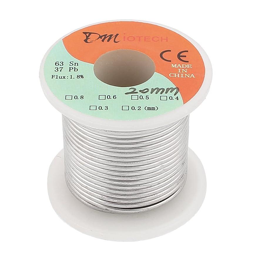 病気の重力空洞eDealMax 2 mm 200 G 63/37ロジンコアフラックス1.8%錫ロールはんだワイヤー