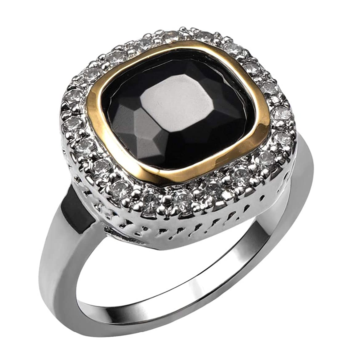 Black Onyx 925 Sterling Silver High Quantity Ring for Women Classic Fashion Jewelry Party Gift Size 6 7 8 9 10 F1459