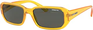 Arnette Man Sunglasses, Yellow Lenses Injected Frame, 55mm