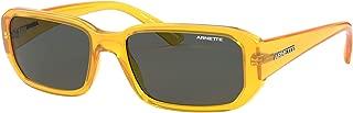 Arnette Man Sunglasses, Yellow Lenses Injected Frame, 55mm