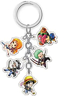 fungshop una pieza Luffy Zoro Chopper llavero llavero cifras juguetes 3pics