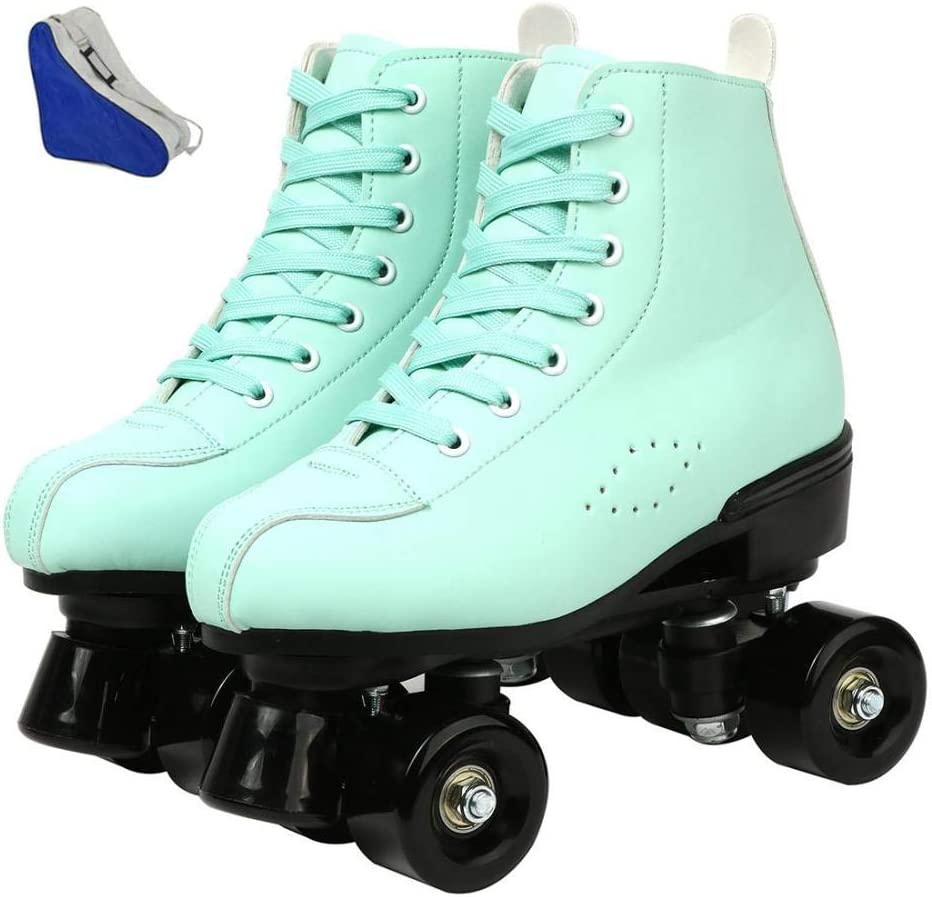 High-top Roller Skates Four-Wheel Popular products Tampa Mall Fun Shiny