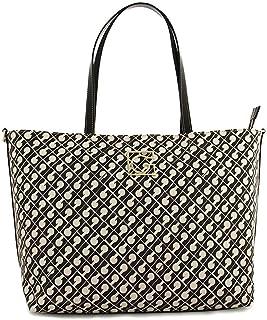 Gherardini Millerighe Fashion Shopper Borsa a Spalla Colore Nero Donna 39x27x14 cm