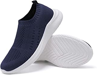 Harence Womens Walking Shoes Comfortable Mesh Slip on Sock Sneakers Lightweight Athletic Running Shoes Breathable Work Shoes