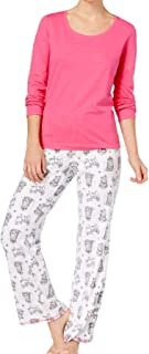 Cotton Top Fleece Bottom Pajama Set