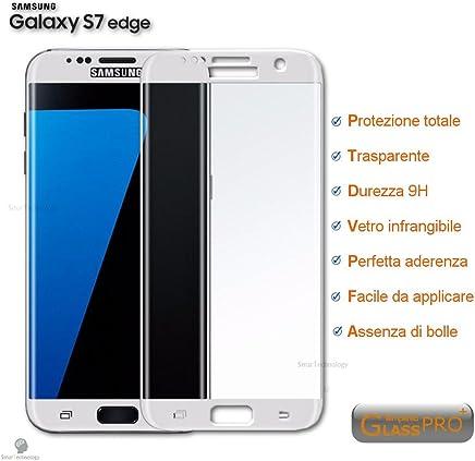 Protector Cristal Templado para Samsung Galaxy S7Edge Protector integrado pantalla Touch Screen Cubierta bordes
