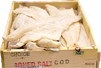 Baccala Salt Cod, 4 LBS, Wild caught Canadian by Robert Wholey & Co.
