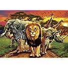 Buffalo Games - African Beasts - 500 Piece Jigsaw Puzzle