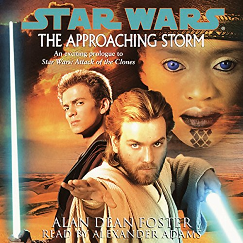 Star Wars: The Approaching Storm audiobook cover art