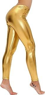 Best gold spandex pants Reviews