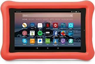 Amazon Kid-Proof Case for Amazon Fire 7 Tablet (7th Generation, 2017 Release), Punch Red