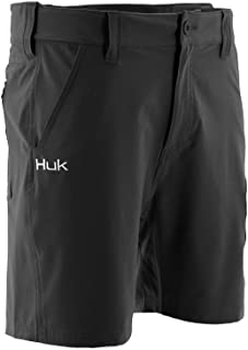 """HUK Men's Next Level 7"""" Quick-Drying Performance Fishing Shorts with UPF 30+ Sun Protection"""