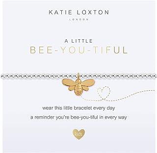 Katie Loxton a Little Girls Stretch Adjustable Band Fashion Animal Charm Bracelet