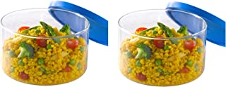 Borosil Gourmet Cook and Store with Lid, 400ml + Borosil Gourmet Cook and Store with Lid, 800ml