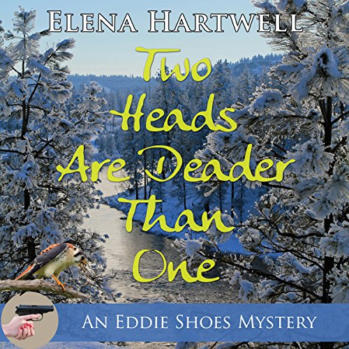 Two Heads Are Deader Than One                   By:                                                                                                                                 Elena Hartwell                               Narrated by:                                                                                                                                 Moira Driscoll                      Length: 7 hrs and 45 mins     3 ratings     Overall 3.3