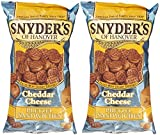 Snyder's of Hanover Pretzel Sandwiches - Cheddar Cheese - 8 oz - 2 Pack