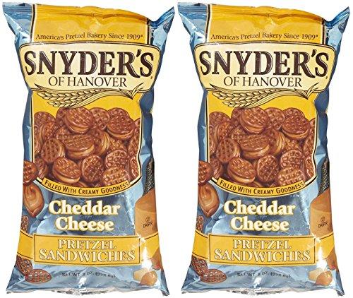 Snyder´s pretzel sandwiches cheddar cheese 226.8 g