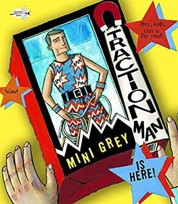 Awesome book for fans of action figures! Traction Man