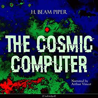 The Cosmic Computer audiobook cover art