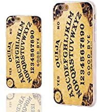 iPhone 6s Case,iPhone 6 Case,ChiChiC [ Cute Series] Full Protective Stylish Slim Flexible Durable Soft TPU Cover Cases for iPhone 6 6s 4.7 Inch,Yellow Ouija Board Funny