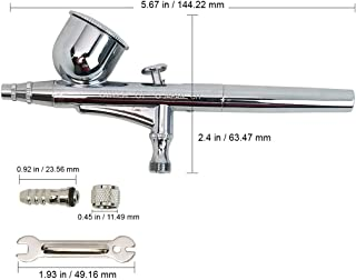 Ginza HP CS Dual Action Airbrush Gun / Gravity Feed (Model # GP-C) from Japan use for Nails. Airbrushing, Tanning, Tattoo, Body Spraying Painting, Auto Spray Painting or Art Painting