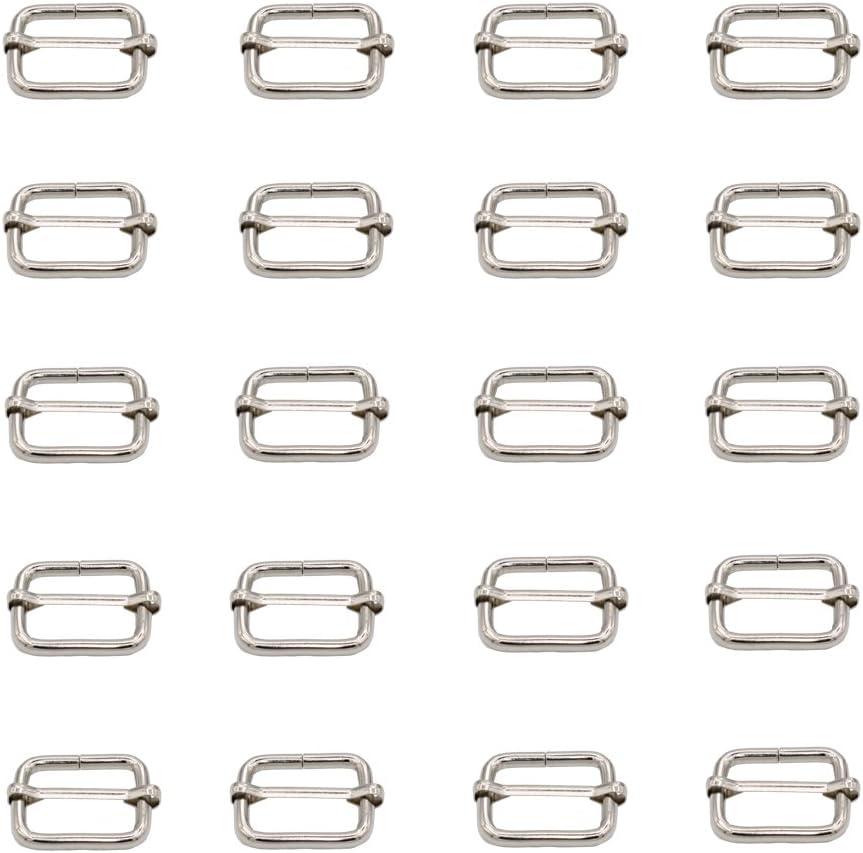 New Shipping Free Leen4You 25mm Metal Adjustable Slide Strap Webbing Buckle Ranking TOP1 Slides