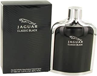 Jaguar Classic Black men cologne by Jaguar Eau De Toilette Spray 3.4 oz