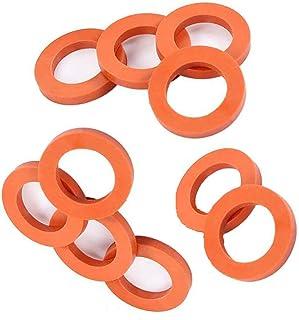 ONESWI Garden Hose Washer Heavy Duty Rubber Washer Seals, Fit All Standard 3/4 Garden Hose Fittings