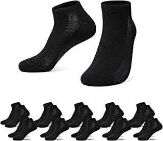 Falechay, Calcetines Tobilleros Hombre Mujer 10 Pares Deportivos Cortos Algodon