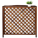 YINxy - Rejilla de madera para aire acondicionado al aire li