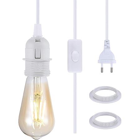 E27 Lampenfassung Fassung Lampenaufhängung für Deckenlampe Pendelleuchte