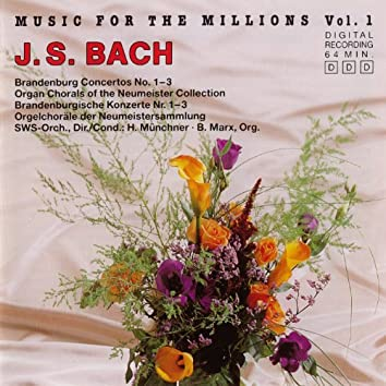 Music For The Millions Vol. 1 - J. S. Bach
