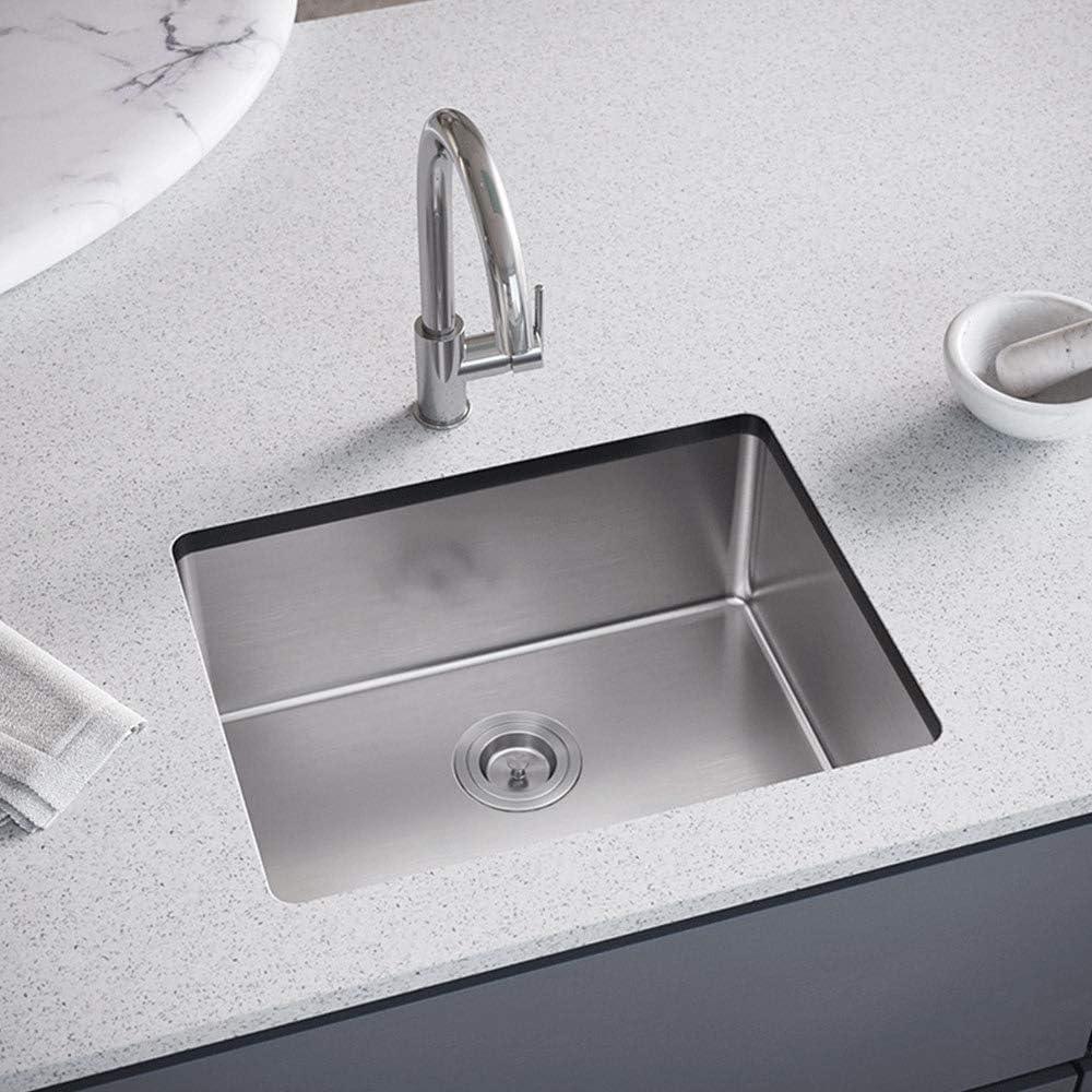 MR Direct 1823-16-SLBL Kitchen Sink Gauge Cash special price Single 16 SinkLink Japan's largest assortment Bow