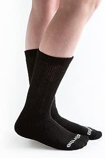 Doc Ortho Ultra Soft Loose Fit Diabetic Socks, 6 Pairs, Crew