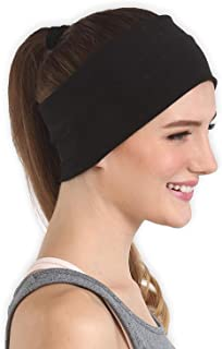 Workout Headband for Women & Men - Wide, Moisture Wicking & Non-Slip Exercise Hairband or Sports Sweatband - Keep Your Hair in Place - Performance Stretch & Ideal for Running & Yoga