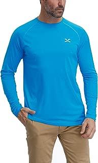 Men's Long Sleeve Performance T-Shirt Moisture Wicking Athletic Shirts UPF 50+